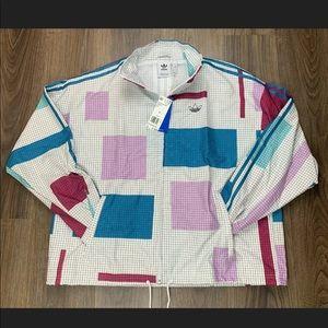 Adidas Originals Grid Block Windbreaker Multicolor